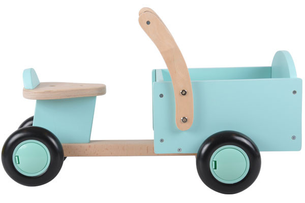 Houten bakfiets little rider mint