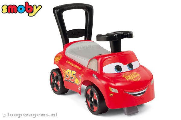 Cars 3 Lightning McQueen loopwagen.