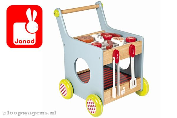 Barbeque trolley